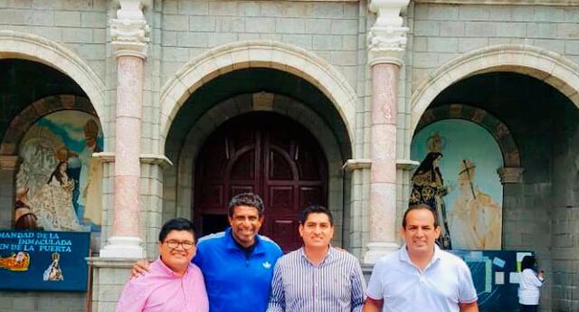 Soto en Otuzco para agradecer a la Virgen de la Puerta por el ascenso