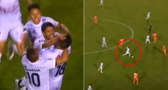 Manco puso el marcado 1 - 0 a favor de Garcilaso