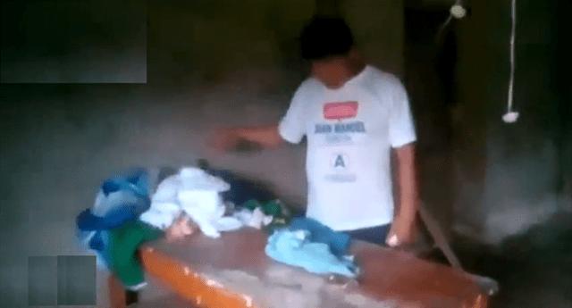 Familia velaba sus prendas y apareció vivo tras naufragio