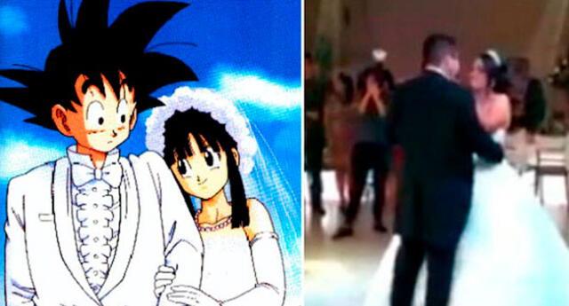 Novia sorprende a su esposo con vals de Dragon Ball y video se viraliza en redes