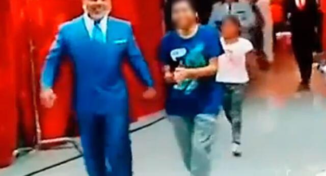 Andrés Hurtado sufrió un accidente en vivo