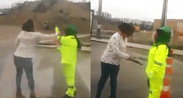 Mujer agrede con insultos racistas y un palo a una inspectora en Arequipa
