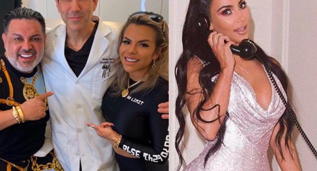 Chibolín se opera con doctor de las Kardashian