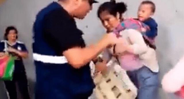 Vía Facebook se denunció una agresión a una joven madre en Surco