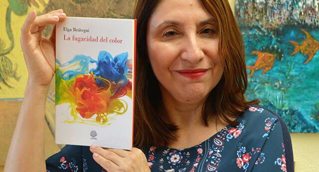 Elga Reátegui figura entre los 5 finalistas para el premio en España
