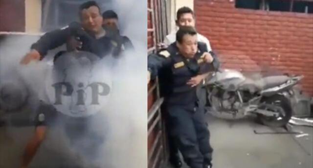 Denuncian vía Facebook maltrato a efectivo PNP