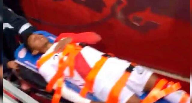 Perú vs. Paraguay EN VIVO | Chiristofer Gonzales sufrió lesión durante encuentro