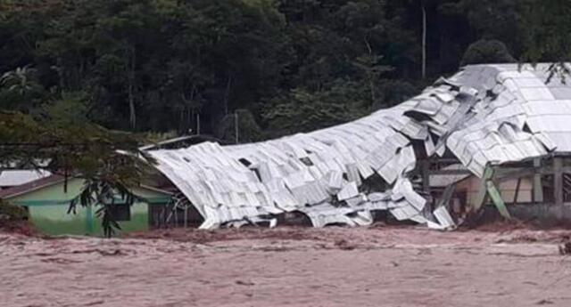 Nuevo desborde del río Perené viene dejando aislados a los pobladores