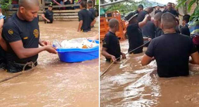 Cientos de familias quedaron aisladas tras desborde