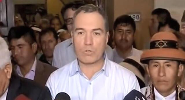 Salvador del Solar indicó que se llegaron a grandes acuerdo con el presidente de comunidad Las Bambas
