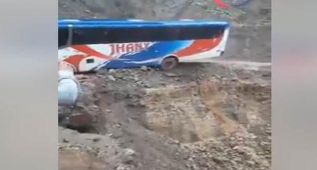 Pasajeros se salvaron de milagro en ómnibus interprovincial