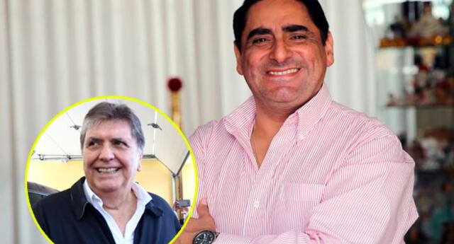 El cómico Carlos Álvarez imita al ex mandatario Alan García desde hace más de 20 años