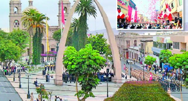 Tacna fue devuelto por Chile al Perú de acuerdo con el Tratado de Lima