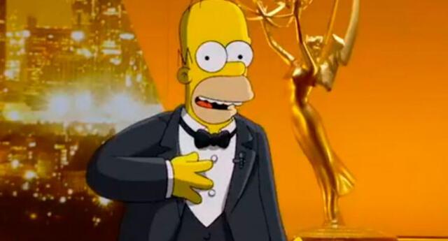 Homero Simpson casi anima la ceremonia de los Premios Emmy 2019