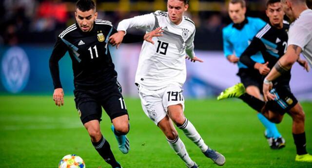Lionel Scaloni se encuentra satisfecho con el empate de Argentina ante Alemania. FOTO: EFE