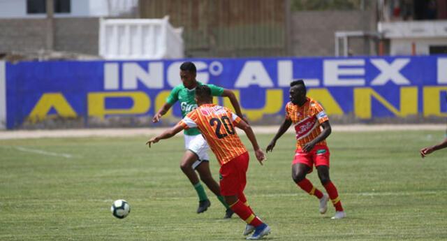 Atlético Grau goleó 5 a 2  Los Caimanes y lo mandó al descenso. FOTO: Bryan Rubio