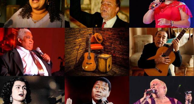 Algunos de los artistas más conocidos en este género musical son Eva Ayllón, 'Zambo' Cavero, Chabuca Granda, entre otros.