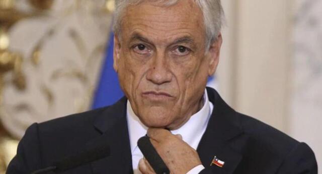 Piñera envió sus condolencias a las familias de los fallecidos