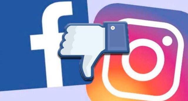 Facebook e Instagram presentaron problemas en la mañana