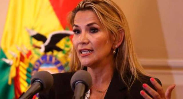 La presidenta de Bolivia Jeanine Áñez rescató un perro de la calle y es uno de sus nuevos adulados peludos