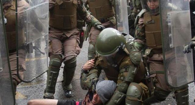 Diversos organismos internacionales denuncian que los agentes del orden chileno vienen cometido violaciones a los derechos humanos