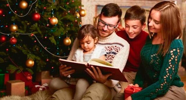 Un libro unifica a la familia en Navidad