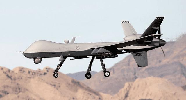 El dron MQ-9 Reaper disparó misiles contra el convoy del general Soleimani