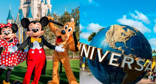 Disney World y Universal Pictures
