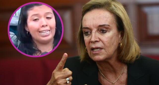 Ex ministra de la Mujer calificó de 'Imbécil' a Birgitte Flores víctima de feminicidio [VIDEO]