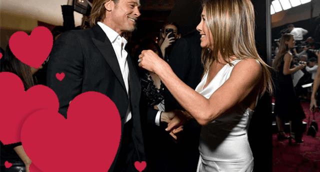 Después de 14 años de haberse divorciado, Brad Pitt y Jennifer Aniston retomaron su amistad