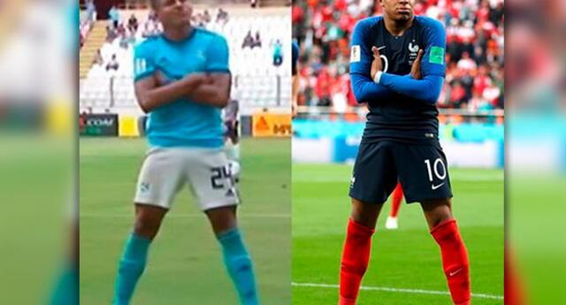 Fernando Pacheco admite ser hincha de Mbappé, pero asegura que el francés se copió su festejo