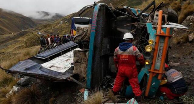 Accidente en Bolivia deja al menos 15 muertos