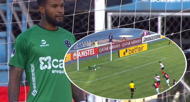 Carlos Cáceda evitó el primer tanto del partido en Bolivia