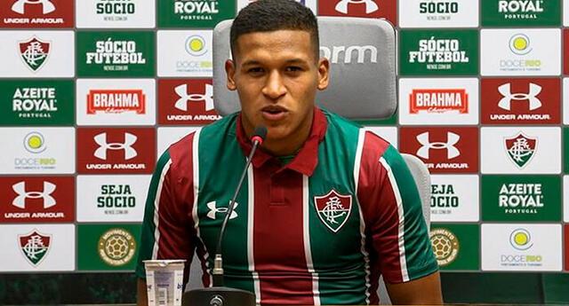 Fernando Pacheco convocado para el clásico entre Fluminense vs. Flamengo
