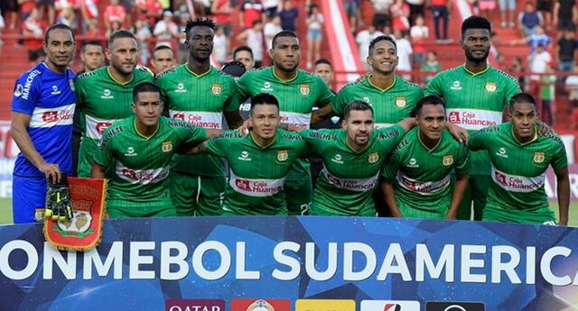 Sport Huancayo llegó al Perú tras empatar con Argentinos Juniors