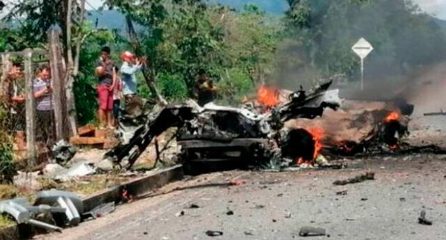 Explota coche bomba en base militar colombiana