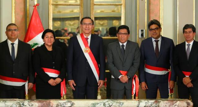 El último jueves se realizó el juramento del nuevo gabinete.