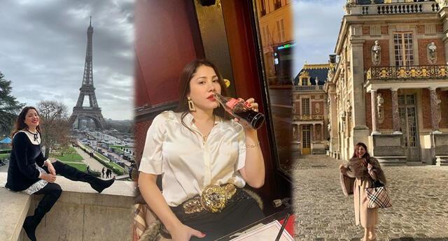 Leslie Castillo presume lujosa luna de miel por Europa junto a su esposo
