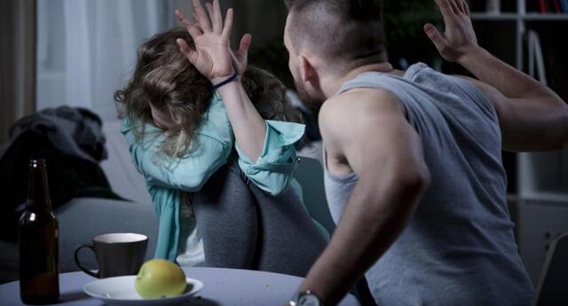 El sujeto tuvo una fuerte discusión con su pareja y la golpeó brutalmente.