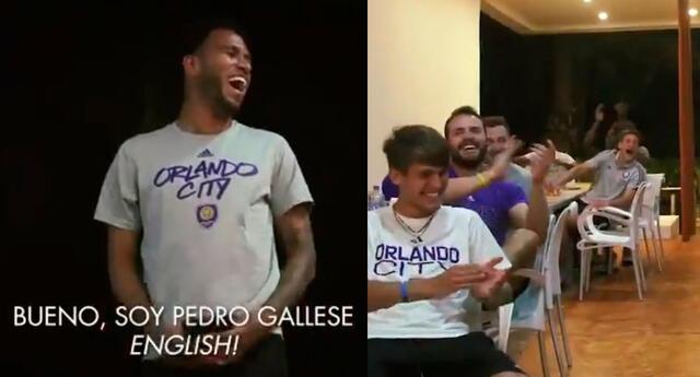 El arquero peruano cambió de aires y ahora protagoniza buenos momentos con sus compañeros de Orlando City.