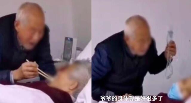 La anciana de 83 se encuentra luchando contra el mortal virus y su esposo la acompaña.
