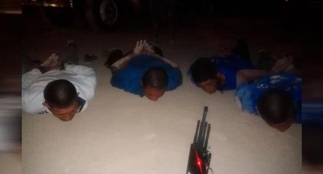 Personal de la Dirin detuvo a seis sujetos que habían robado el tráiler
