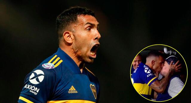 Carlos Tévez se consagró campeón con Boca Juniors.