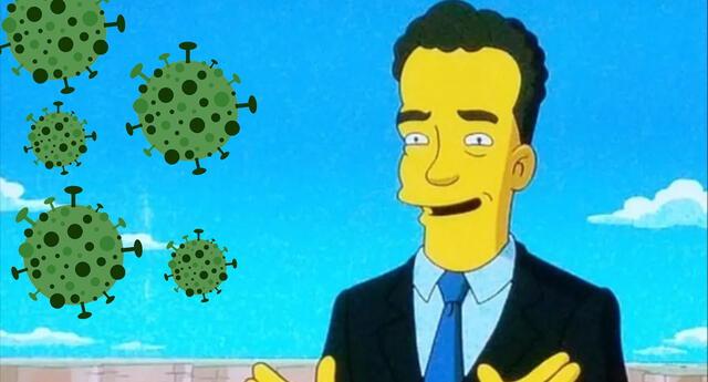 Tom Hanks con coronavirus
