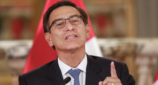 Martín Vizcarra declara aislamiento social obligatorio.