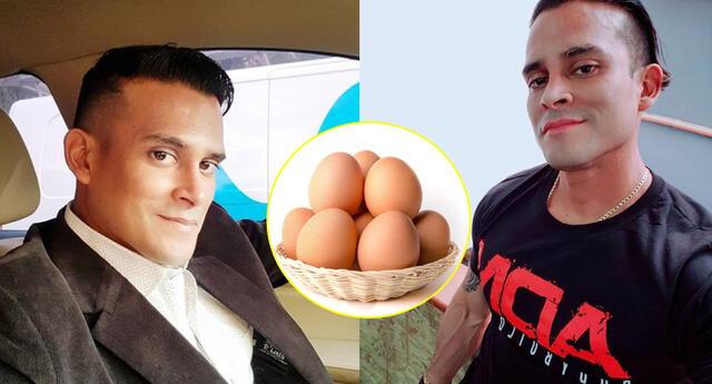 Christian Domínguez cuenta por qué come tantos huevos.