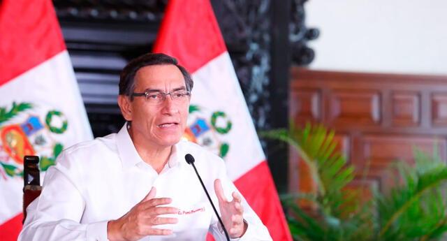 Martín Vizcarra, presidente de la República.