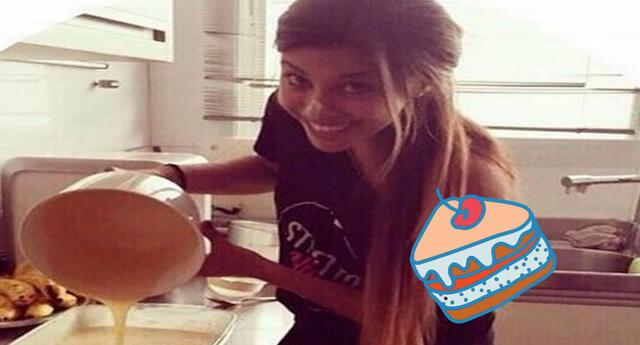 La pareja de Paolo Guerrero enseña a preparar un delicioso pie de mango.