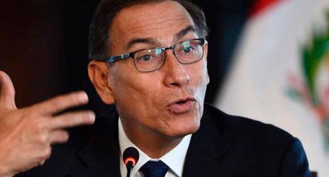 Presidente Martín Vizcarra afirma no tener síntomas.