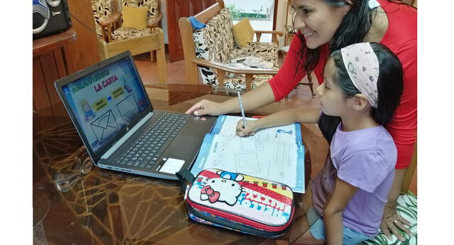 Las clases virtuales serán desarrolladas por los profesores del colegio Saco Olivero